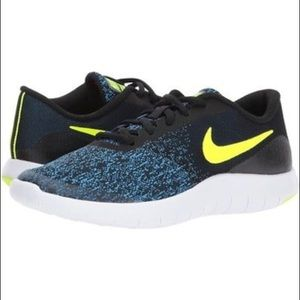 NIKE Flex Contact lace up sneakers US 7Y brand new